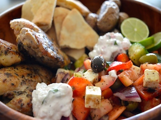Greek Salad Bowl